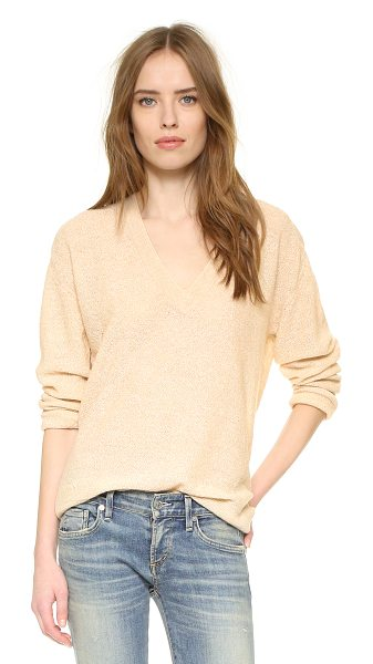 Zadig & Voltaire Apple pullover sweater in ficelle - A slouchy, lightweight Zadig & Voltaire sweater,...