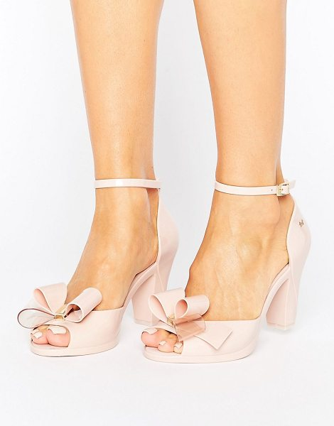 ZAXY Diva Bow Sandal - Shoes by Zaxy, Recyclable upper, Ankle-strap fastening,...
