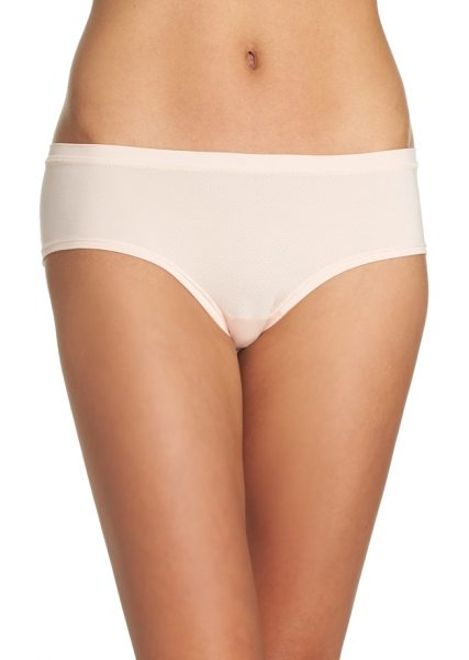 Zella zella active mesh hipster briefs in pink wood