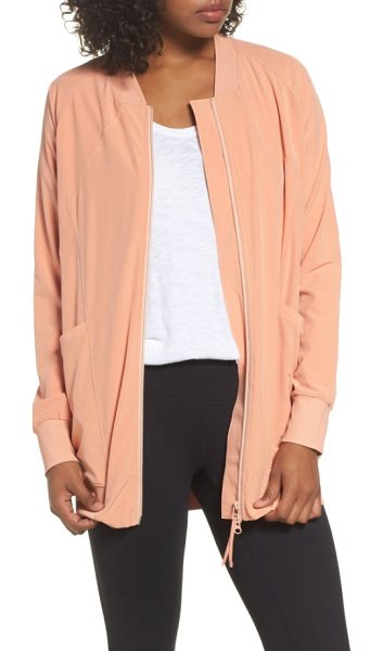 ZELLA long bomber jacket - Ideal for wearing to the studio and...