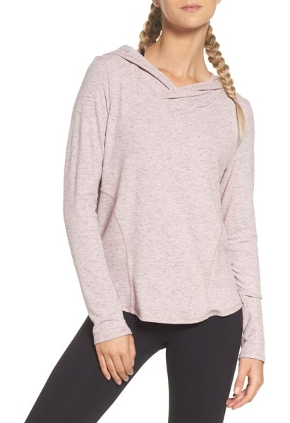 Zella vinyasa hoodie in pink dusk - Go with the flow of yoga and the rest of your busy day...