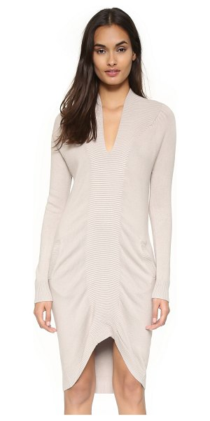Zero + Maria Cornejo Quinn dres in bamboo - A cozy Zero + Maria Cornejo sweater dress with ribbed...