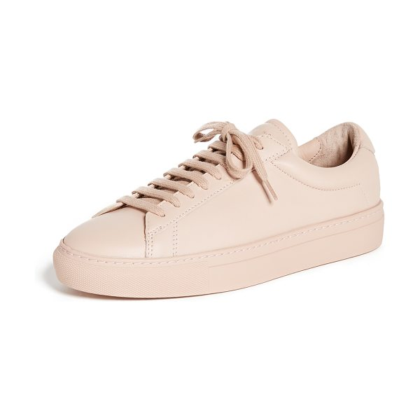 Zespa lace up sneakers in nude/nude - Sporty Zespa sneakers crafted in rich, smooth leather....