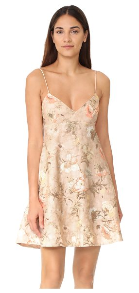 Zimmermann bowerbird sun dress in apricot floral - NOTE: Zimmermann uses special sizing. Please see Size &...