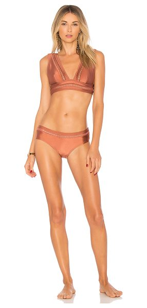 Zimmermann Corsair Ladder Bikini Set in rose - Dive into the chicest swim to date: Zimmermann's Corsair...