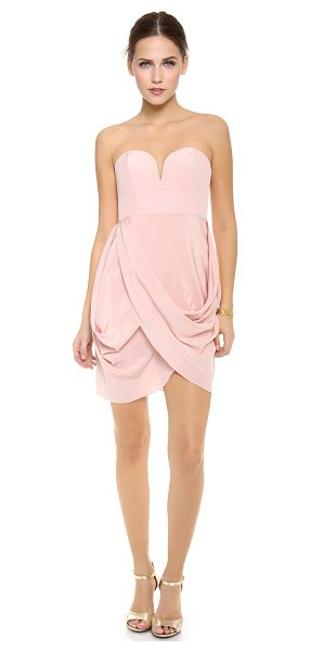 Zimmermann draped dress in rosewater - NOTE: Zimmermann uses special sizing. A structured...
