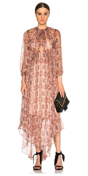ZIMMERMANN Empire Heiress Dress - Self: 100% silk - Lining: 100% poly.  Made in China. ...