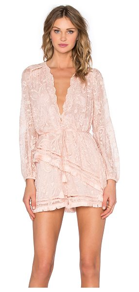 ZIMMERMANN Henna floating fringe playsuit - Main: 100% silkEmbroidery: 100% cottonLining: 100 %poly....