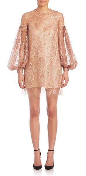 ZIMMERMANN lavish lace billow tunic - A trend-right dress with eye-catching lace decoration....