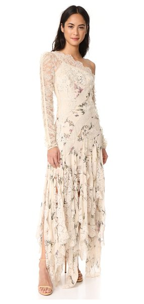 Zimmermann maples temperance long dress in cream floral - NOTE: Zimmermann uses special sizing. Please see Size &...