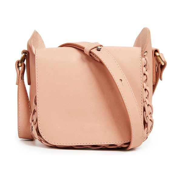 Zimmermann mini shoulder bag in natural tan - Fabric: Faux leather Leather: Kidskin lining Braided...
