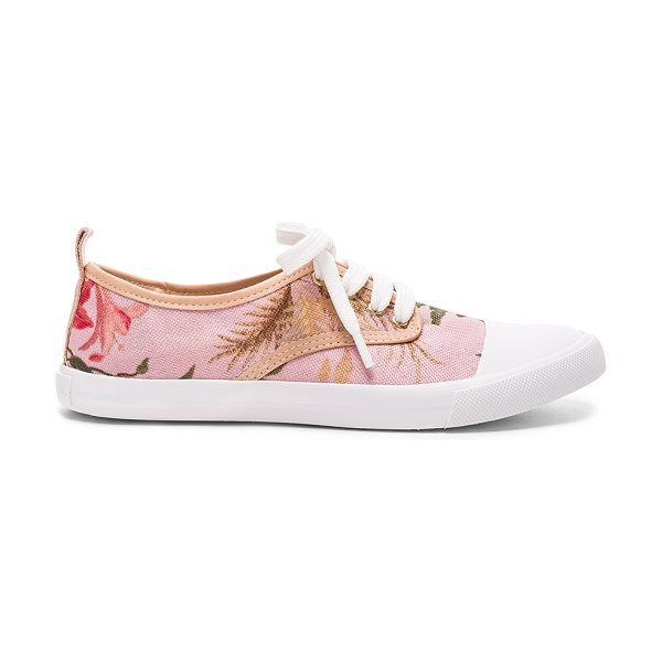 ZIMMERMANN Print Sneakers - Tapestry upper with rubber sole.  Made in Brazil. ...