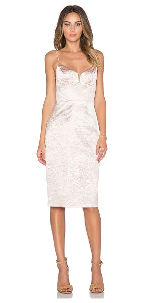 ZIMMERMANN Rhythm wire crush dress - Poly blend. Dry clean only. Fully lined. V-wire center...