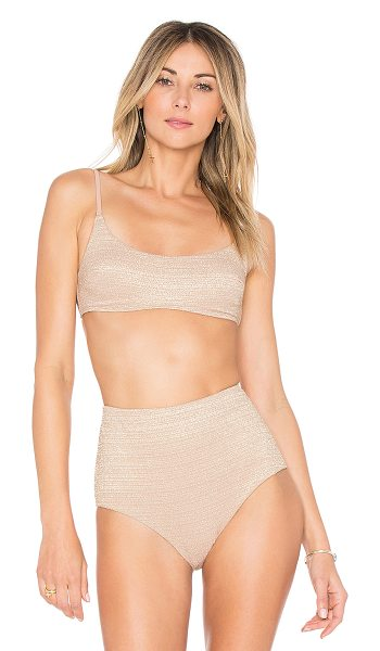 ZIMMERMANN Scoop Bikini Top - A classic style gets a glamorous upgrade with...