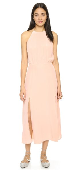 Zimmermann Silk picnic dress in shell - A relaxed silhouette lends effortless appeal to this...