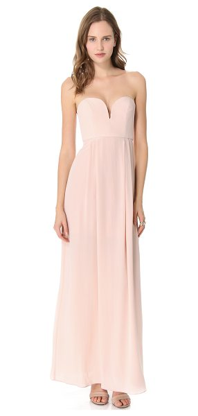 ZIMMERMANN strapless maxi dress - NOTE: Zimmermann uses special sizing. Sweet meets sexy....