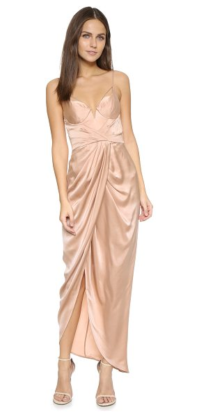 Zimmermann sueded silk long dress in peony - Description NOTE: Zimmermann uses special sizing. Please...