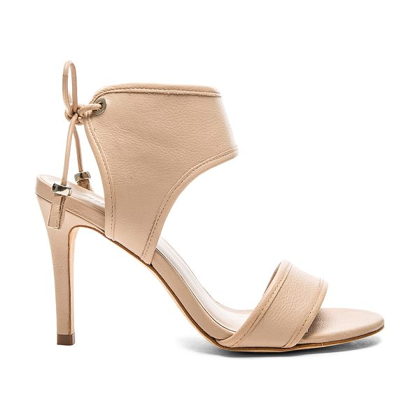 Zimmermann Tie back sandal in beige