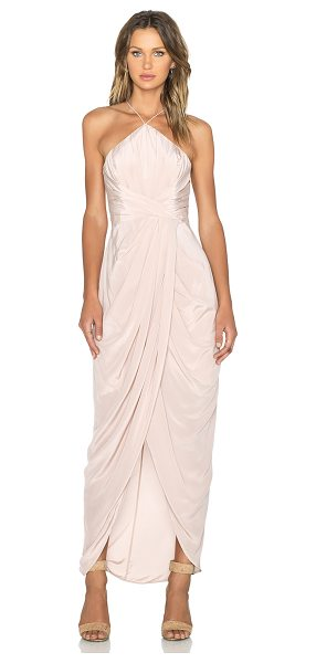 Zimmermann Tuck maxi dress in blush - Self: 100% silkLining: 100% poly. Dry clean only....