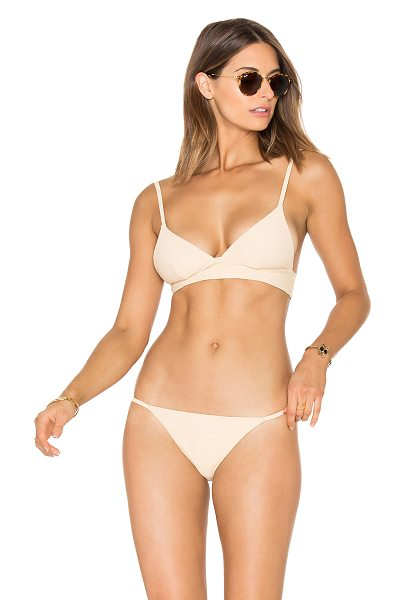ZULU & ZEPHYR Dawn Tri Cup Bikini Top - Lycra/spandex blend. Hand wash cold. Adjustable shoulder...