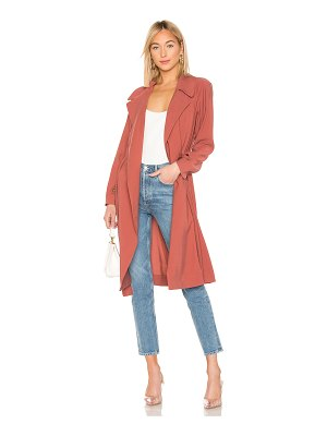 1. STATE Tie Waist Trench Coat