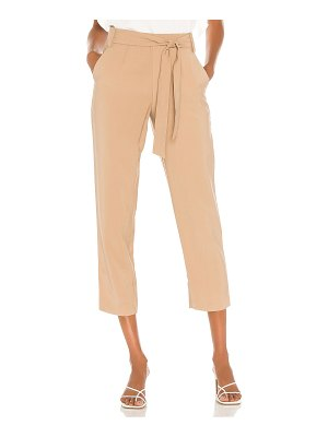 1. STATE tie waisted tapered pant