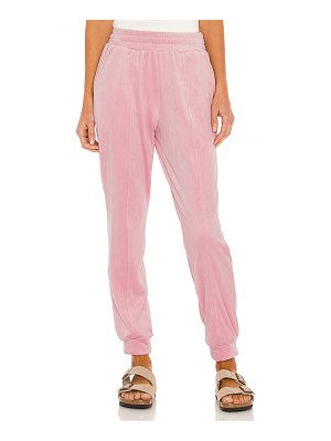1. STATE velour pant