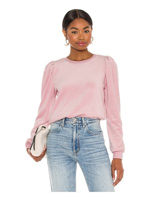 1. STATE velour sweater
