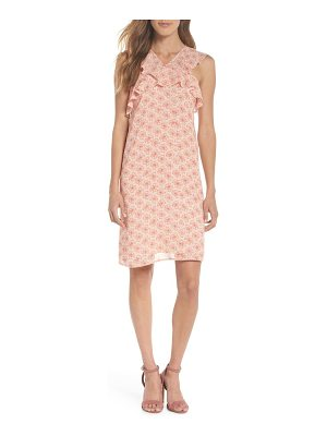 19 COOPER Crisscross Ruffle Shift Dress