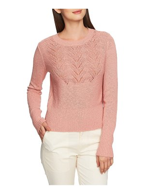 1.State pointelle jersey sweater