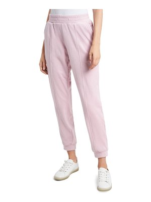 1.State velour joggers
