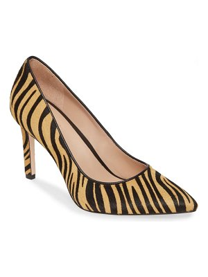 27 EDIT alanna genuine calf hair pump