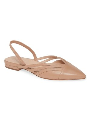 27 EDIT haylee slingback pointed toe flat