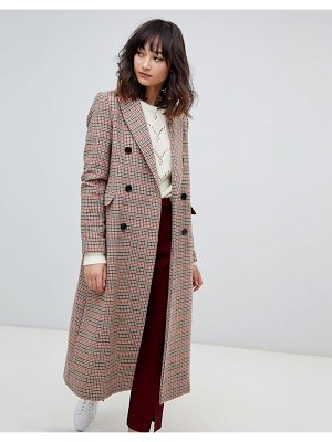 2Nd Day 2ndday check tailored coat