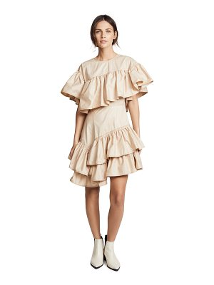 3.1 Phillip Lim asymmetric flamenco dress