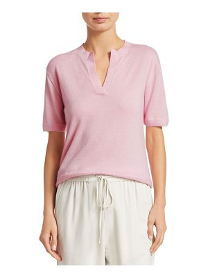 3.1 Phillip Lim cashmere split-neck tee