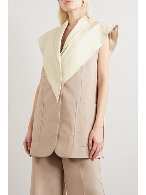3.1 Phillip Lim convertible wool-blend and leather vest