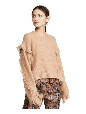 3.1 Phillip Lim cropped fringe sleeve sweater