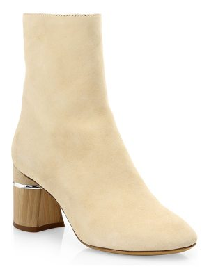 3.1 Phillip Lim drum suede booties