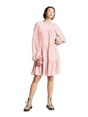 3.1 Phillip Lim ls short gathered dress