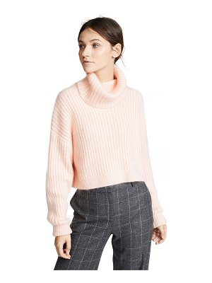 3.1 Phillip Lim mohair cropped turtleneck