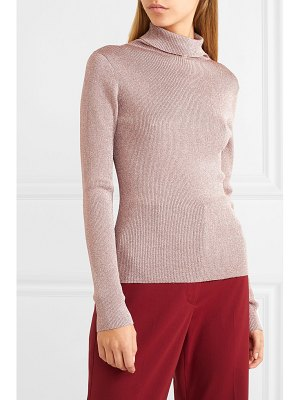 3.1 Phillip Lim ribbed lurex turtleneck sweater