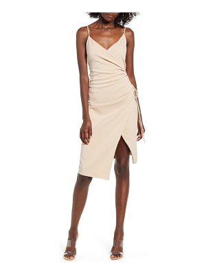 4SI3NNA aerin sleeveless faux wrap dress