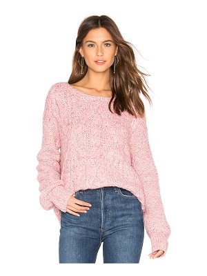 525 America mix stitch cable pullover