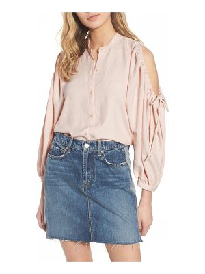 7 For All Mankind 7 for all mankind cold shoulder top