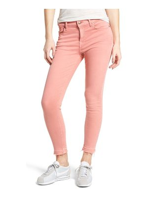 7 FOR ALL MANKIND 7 For All Mankind Released Hem Ankle Skinny Jeans