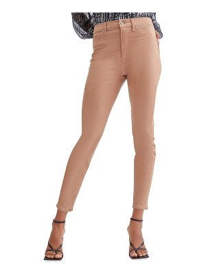 7 For All Mankind High-Waist Ankle Skinny Coated Jeans