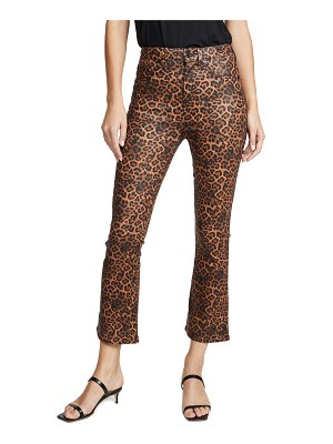 7 For All Mankind high waisted slim kick with faux pockets