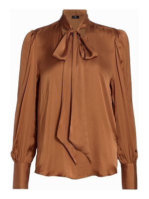 7 For All Mankind neck-tie blouse