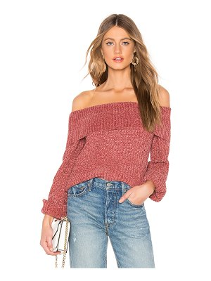 About Us Ashton Chenille Sweater